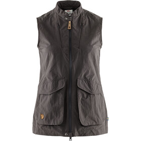 Fjällräven Travellers MT Vest Dames, dark grey